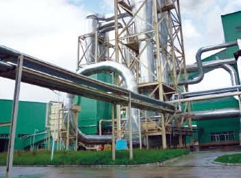 绥芬河大亚木业设备保温及铝板安装