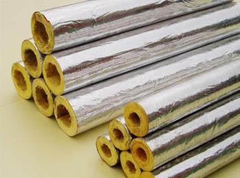 铝箔岩棉管